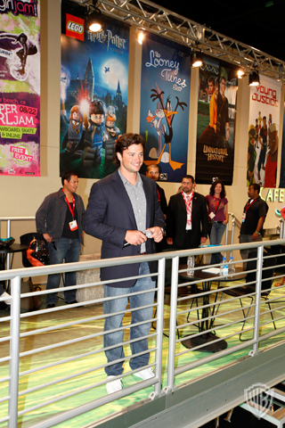 Tom Welling Hintergrund entitled Tom Welling - Comic Con 2010