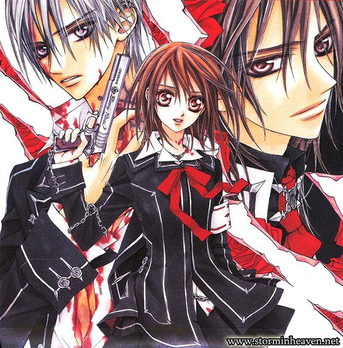 Manga wallpaper called Vampire Knight