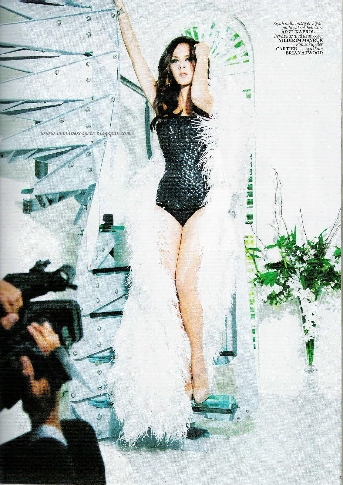 Vogue Turkey August 2010