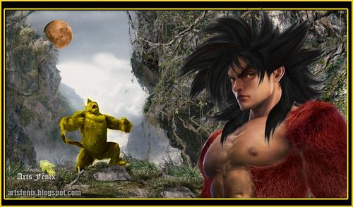 Goku real ssj4.2