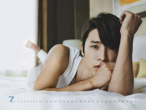 instyle July Calendar - Donghae