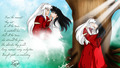 inuyasha and kagome - inuyasha wallpaper