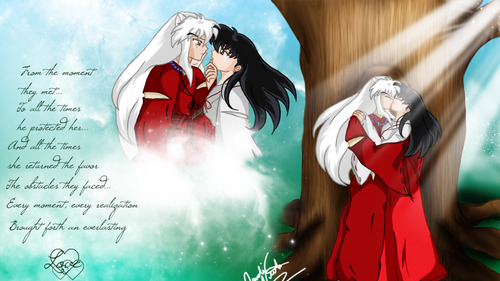 Inuyasha wallpaper called inuyasha and kagome