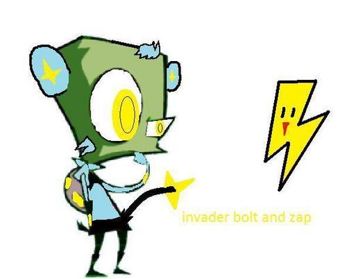 invader bolt and zap