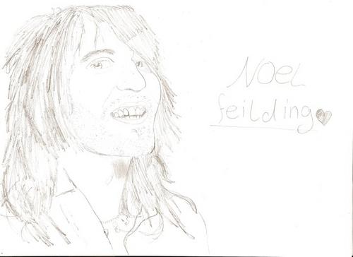 my drawing of noel