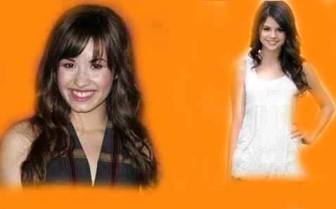 selena gomez dan demi lovato wallpaper called selena and demi