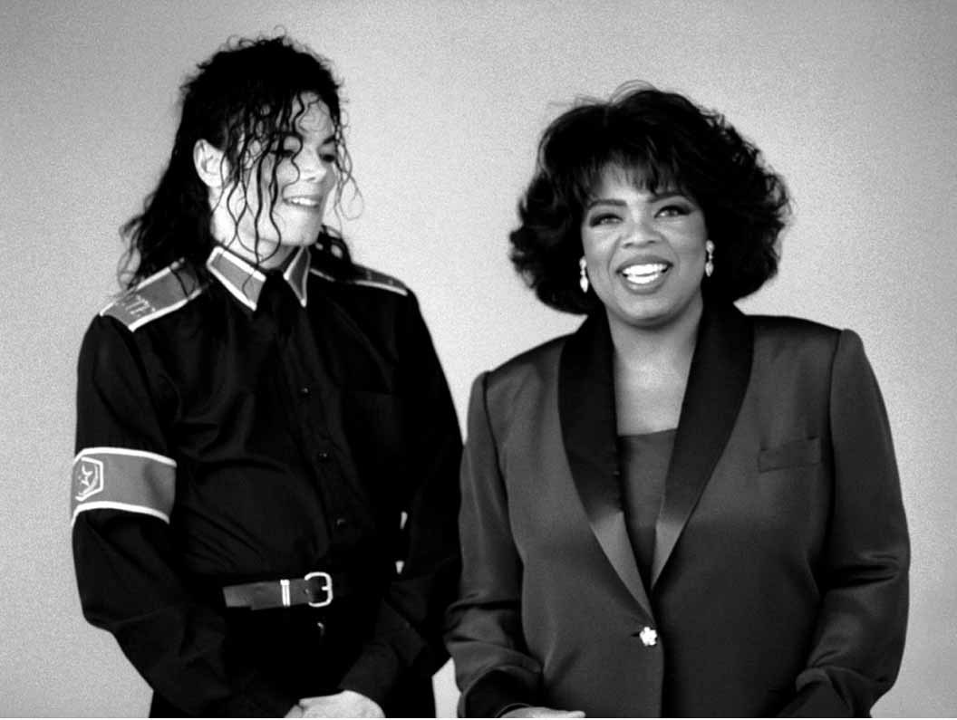 with OPRAH..