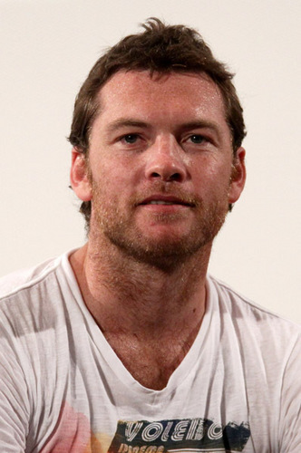 Sam Worthington wallpaper titled  Sam Worthingt the Giffoni Award during Giffoni Experience 2010 on July 28, 2010 Italia