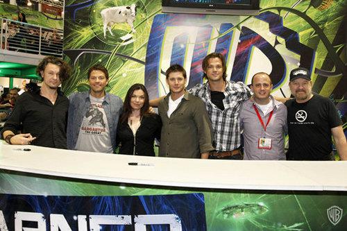 """Supernatural"" Comic-Con Signing"