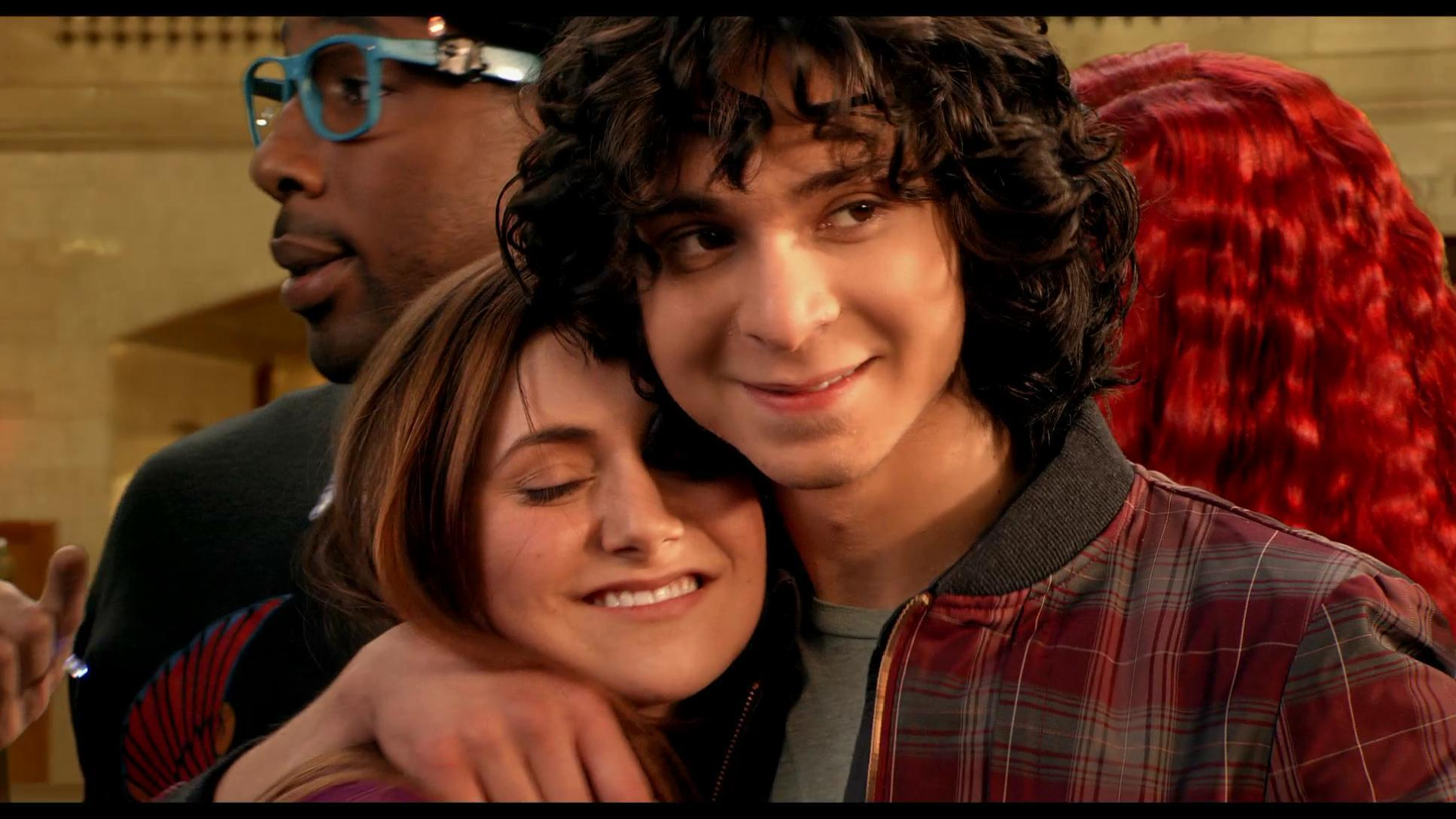 Adam sevani and alyson stoner kiss