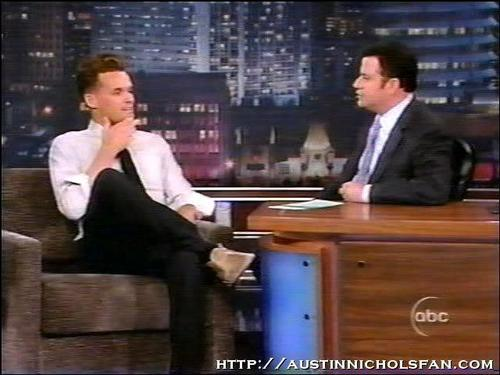 Austin on Jimmy Kimmel Live - austin-nichols Screencap