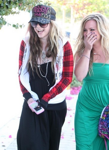 Avril Lavigne Out And About In Malibu