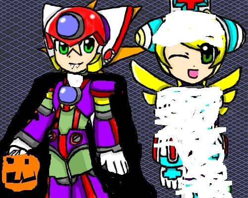AxlandCinnamon on Halloween