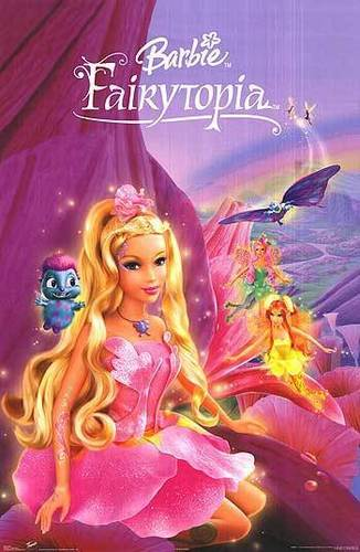 芭比娃娃 Fairytopia movie poster