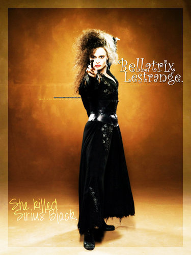 Bellatrix Lestrange, she killed Sirius