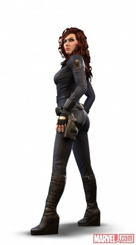 Black Widow - video game variant