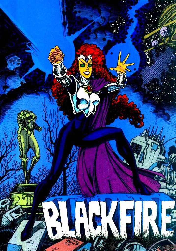 Dc comics blackfire