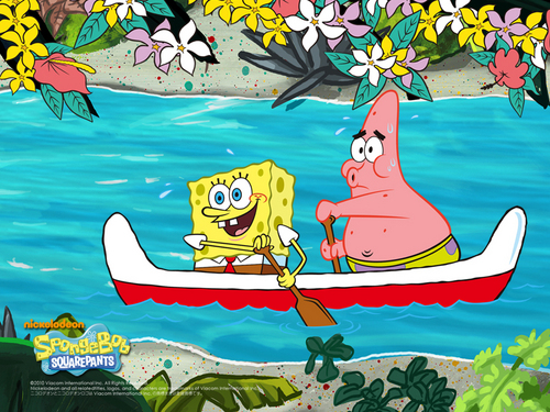 Spongebob Squarepants wallpaper called Boat