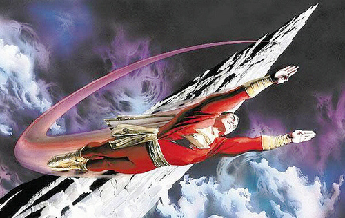 Captain marvel dc comics photo