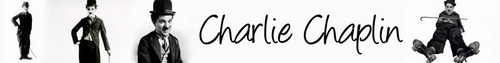 Charlie Chaplin Banner