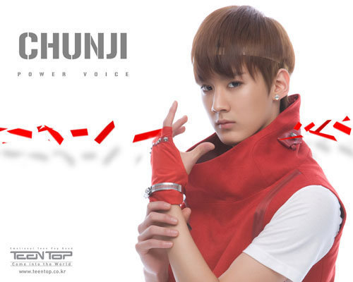 Teen Top wallpaper titled Chunji