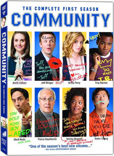Community wallpaper called Community Season 1 DVD