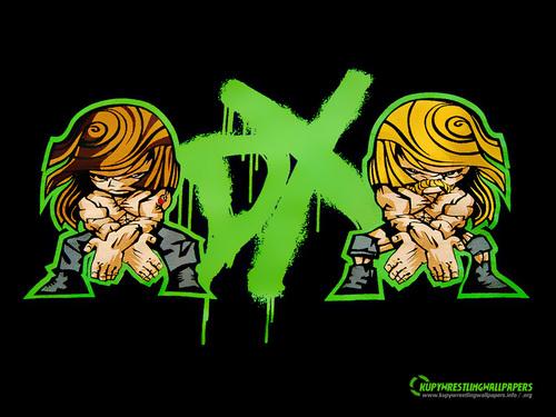 WWE wallpaper called DX