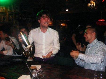 Dan has fun at Birthday Party