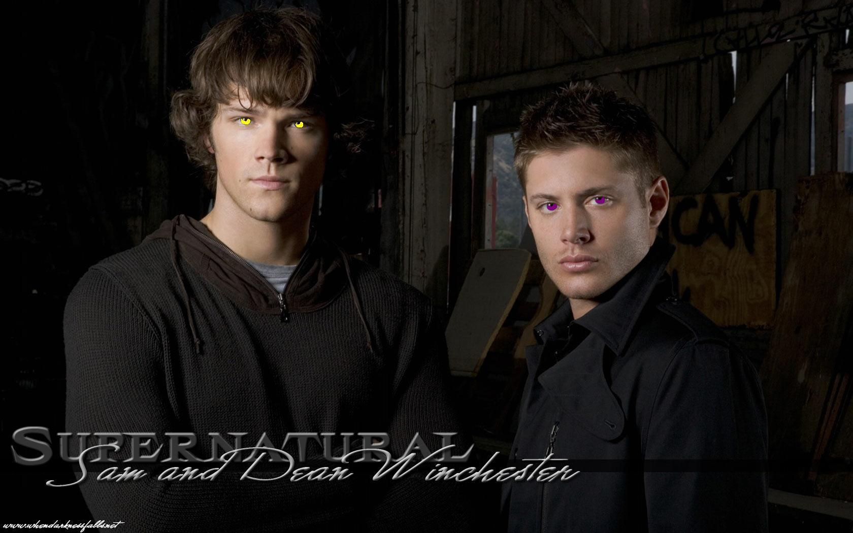 Demon Sam & Dean's eyes
