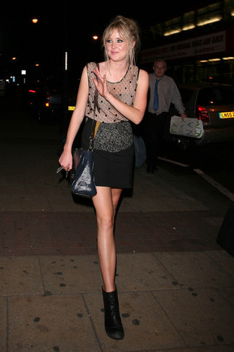 Diana Vickers leaves the Camden Roundhouse (July 28)