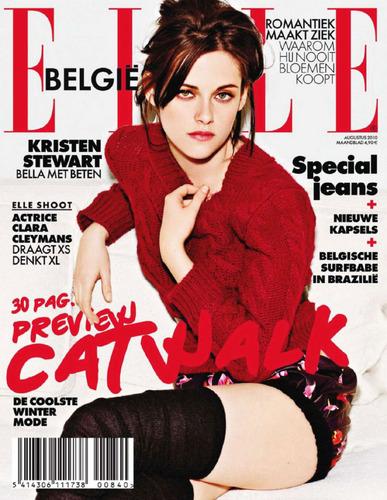 ELLE Belgium Cover