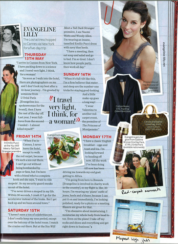 Evi Cannes Journal Instyle Magazine