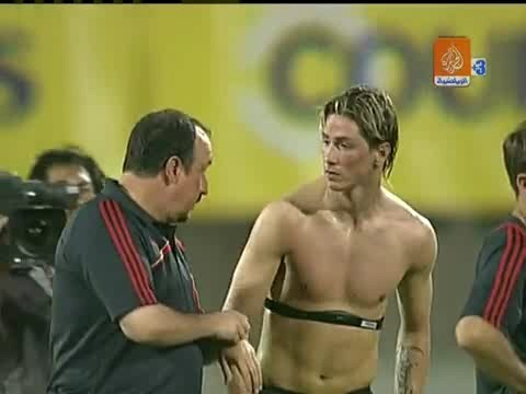Fernando Torres wallpaper entitled FT Shirtless