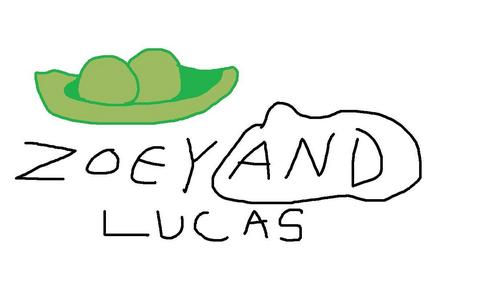 For Zoey and Lucas: Two peas In a pod