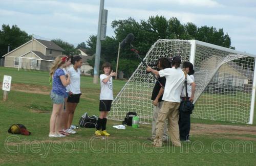 Greyson's football Game