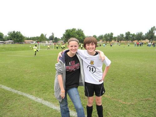 Greyson's Soccer Game