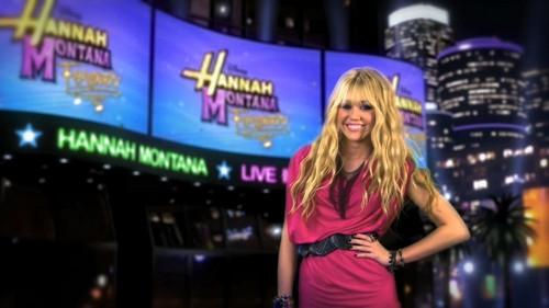 Hannah Montana wallpaper entitled Hannah Montana Forever Opening Hannah Montana