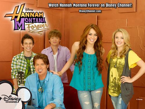 Hannah Montana Forever promotional fond d'écran