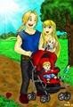 Happy Family  - fullmetal-alchemist-manga fan art