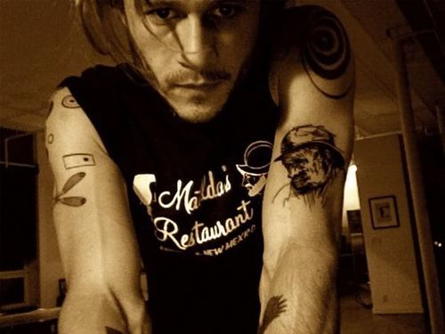 Heath's tattoos <3