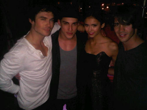Ian & Nina w Michael and Steven