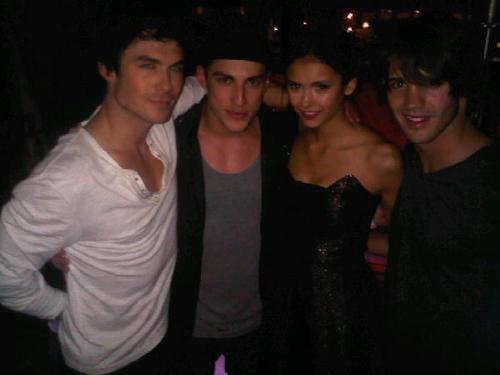 Ian & Nina w Michael and Steven