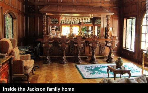 Inside the Jackson family home