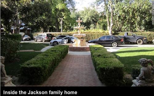 Inside the Jackson family home