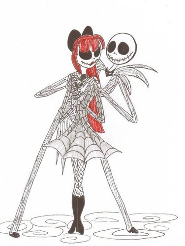Jack Skellington wallpaper called Jack and Judy