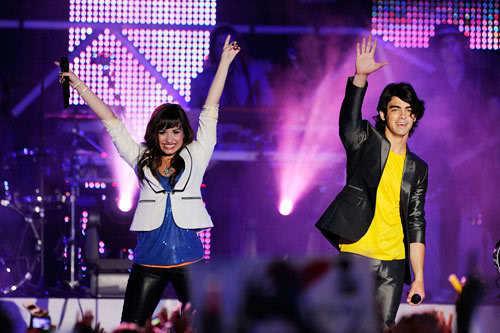 Joe and Demi