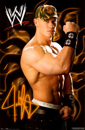 Wwe Wallpaper Titled John Cena