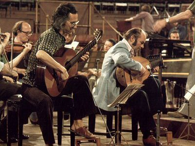 John Williams and Julian Bream