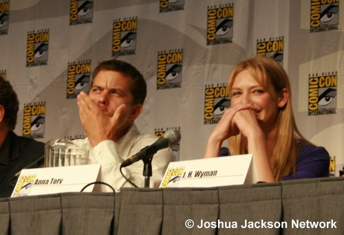 Joshua Jackson - Comic Con Fringe Panel