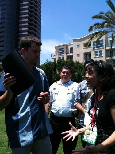 Joshua Jackson - Comic Con
